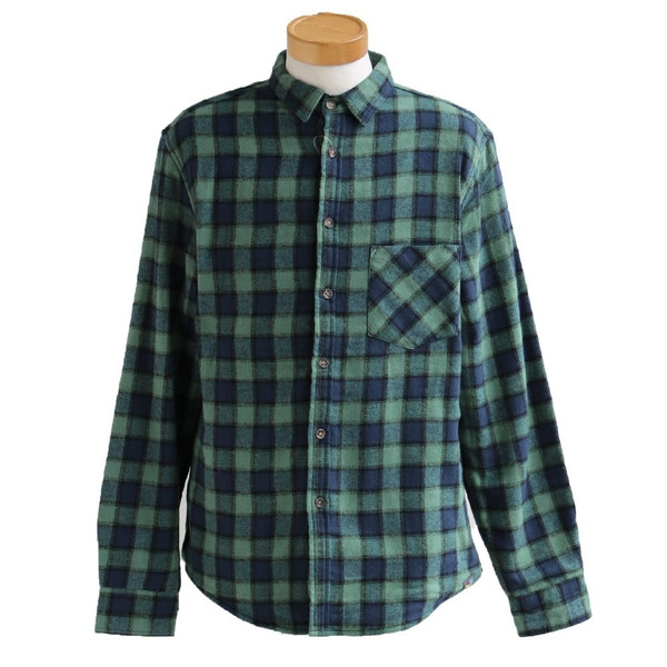 【A-暖か裏付】長袖シャツ ネルシャツ チェックシャツ シャツ  総裏地 フリース ボア フランネル チェック メンズ レディース 40代 50代 paty 25