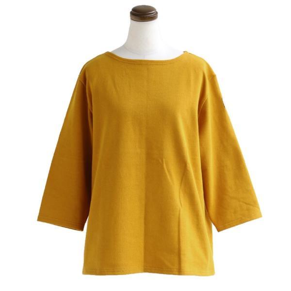 7分袖 カットソー  綿100% バスクシャツ ボートネック 日本製 コットン 無地  レディース SAIL|paty|23