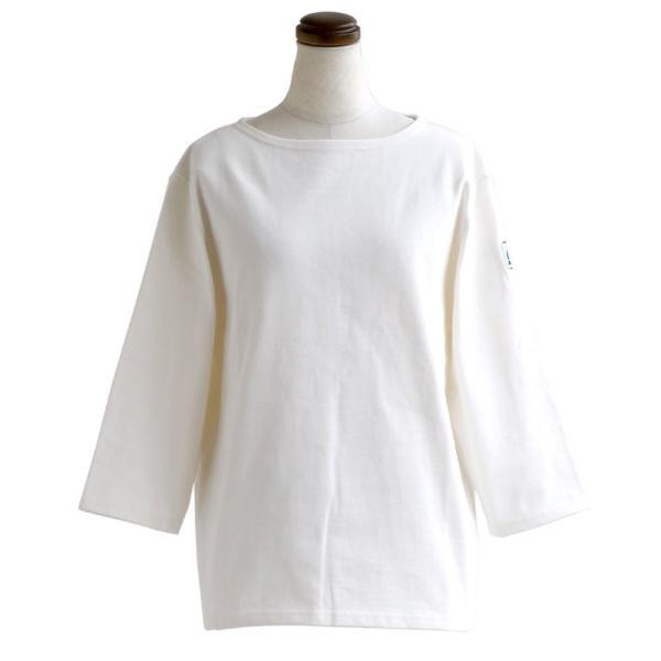 7分袖 カットソー  綿100% バスクシャツ ボートネック 日本製 コットン 無地  レディース SAIL|paty|27