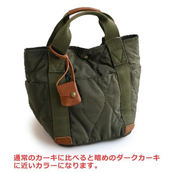 ミニトート トートバッグ バッグ かばん BAG 鞄 ポリキルティング カウレザー ウェーブキルティング (トーラ) toleur|paty|08