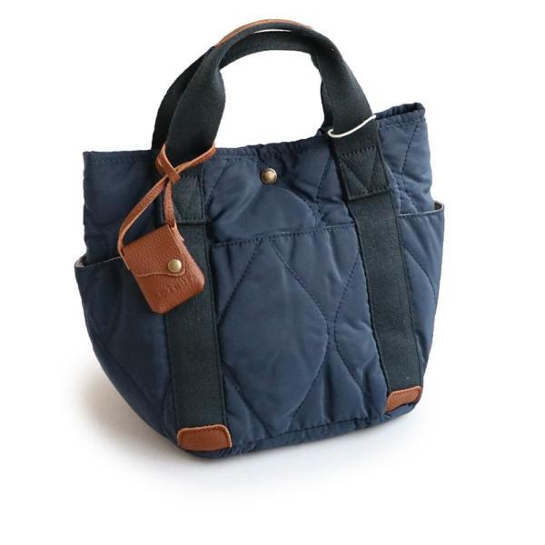 ミニトート トートバッグ バッグ かばん BAG 鞄 ポリキルティング カウレザー ウェーブキルティング (トーラ) toleur|paty|09