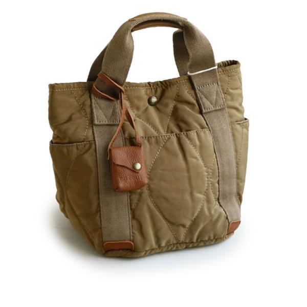 ミニトート トートバッグ バッグ かばん BAG 鞄 ポリキルティング カウレザー ウェーブキルティング (トーラ) toleur|paty|10