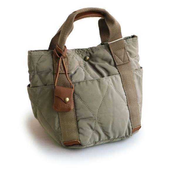 ミニトート トートバッグ バッグ かばん BAG 鞄 ポリキルティング カウレザー ウェーブキルティング (トーラ) toleur|paty|11