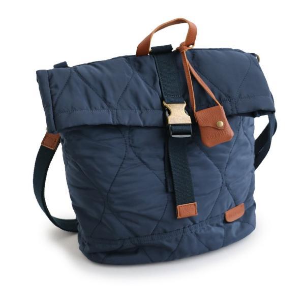 2WAY リュック バッグ かばん BAG 鞄 ショルダーバッグ ショルダー ポリキルティング カウレザー (トーラ) toleur レディース|paty|08