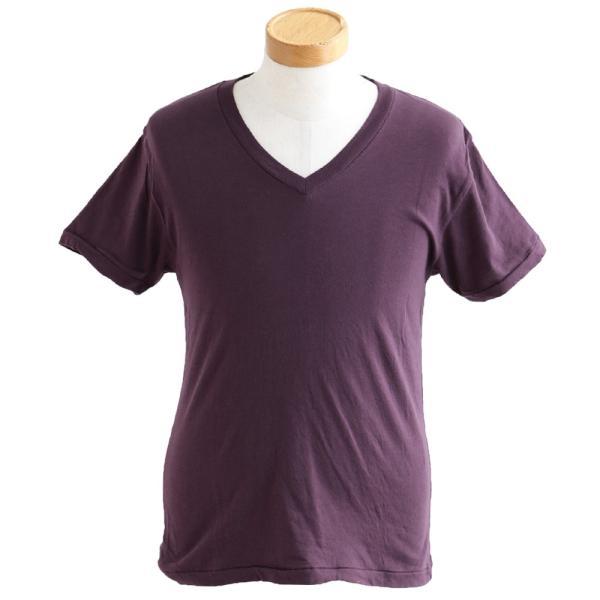 半袖TEE Tシャツ 半袖  レディース メンズ Vネック 天竺 コットン100% 無地 インナー タイト Vanilla fudge 春夏 おしゃれ|paty|11
