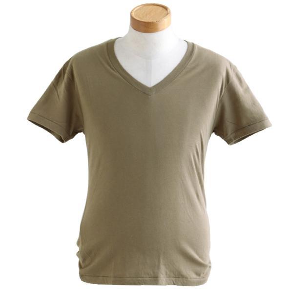 半袖TEE Tシャツ 半袖  レディース メンズ Vネック 天竺 コットン100% 無地 インナー タイト Vanilla fudge 春夏 おしゃれ|paty|12
