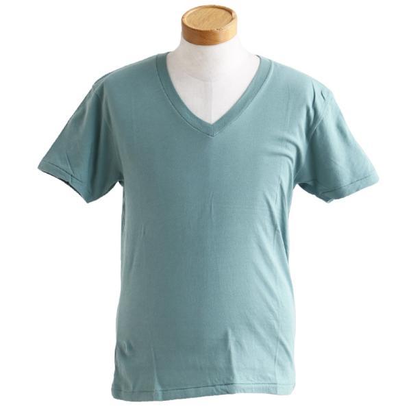 半袖TEE Tシャツ 半袖  レディース メンズ Vネック 天竺 コットン100% 無地 インナー タイト Vanilla fudge 春夏 おしゃれ|paty|13