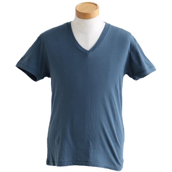 半袖TEE Tシャツ 半袖  レディース メンズ Vネック 天竺 コットン100% 無地 インナー タイト Vanilla fudge 春夏 おしゃれ|paty|14