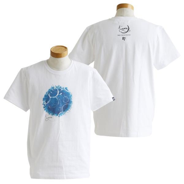 Tシャツ 半袖 クルーネック  kagero 陽炎 プリント  綿100% 米綿 BLUETO レディース メンズ 春夏 おしゃれ(重ね着企画)|paty|08