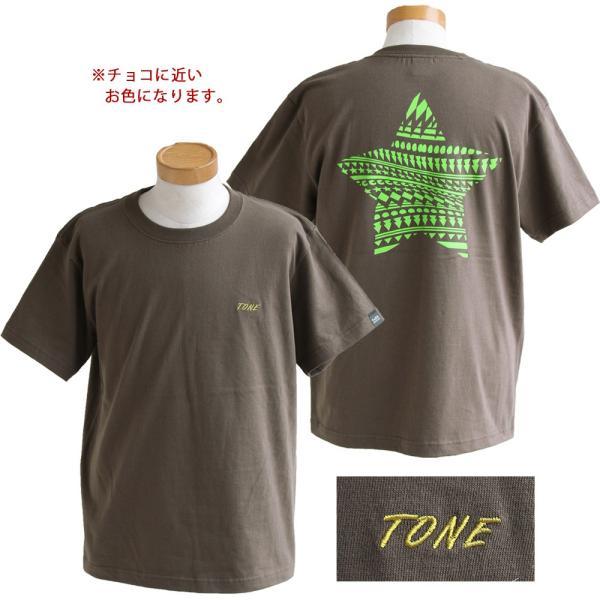 Tシャツ 半袖  メンズ クルーネック 配色 ノルディック 星 スター バック プリント レディース TOneontoNE おしゃれ|paty|12