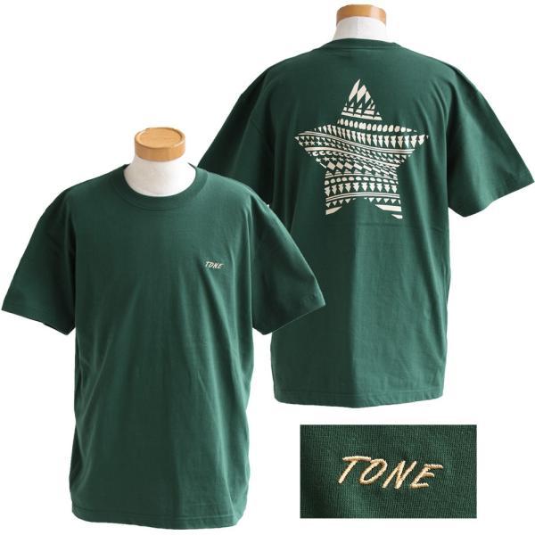 Tシャツ 半袖  メンズ クルーネック 配色 ノルディック 星 スター バック プリント レディース TOneontoNE おしゃれ|paty|13
