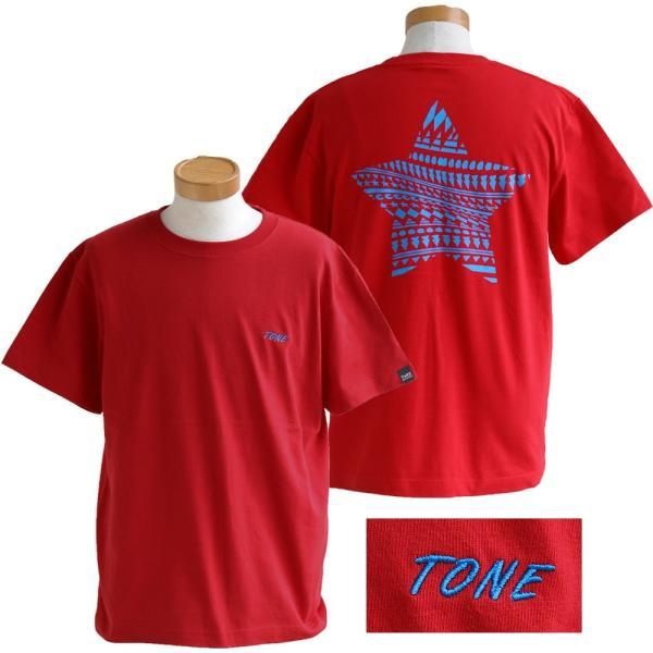 Tシャツ 半袖  メンズ クルーネック 配色 ノルディック 星 スター バック プリント レディース TOneontoNE おしゃれ|paty|14