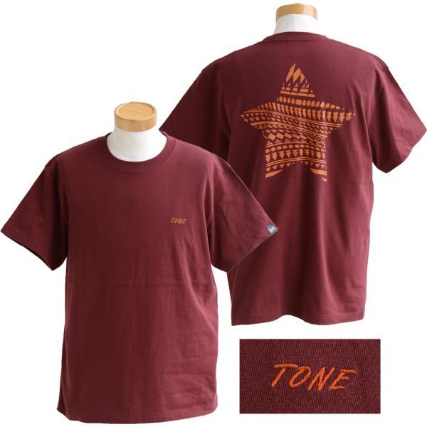 Tシャツ 半袖  メンズ クルーネック 配色 ノルディック 星 スター バック プリント レディース TOneontoNE おしゃれ|paty|17