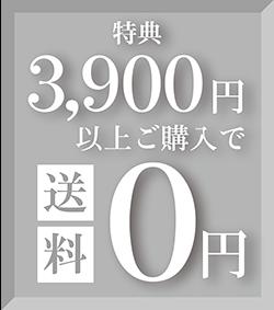 3900円以上で送料無料