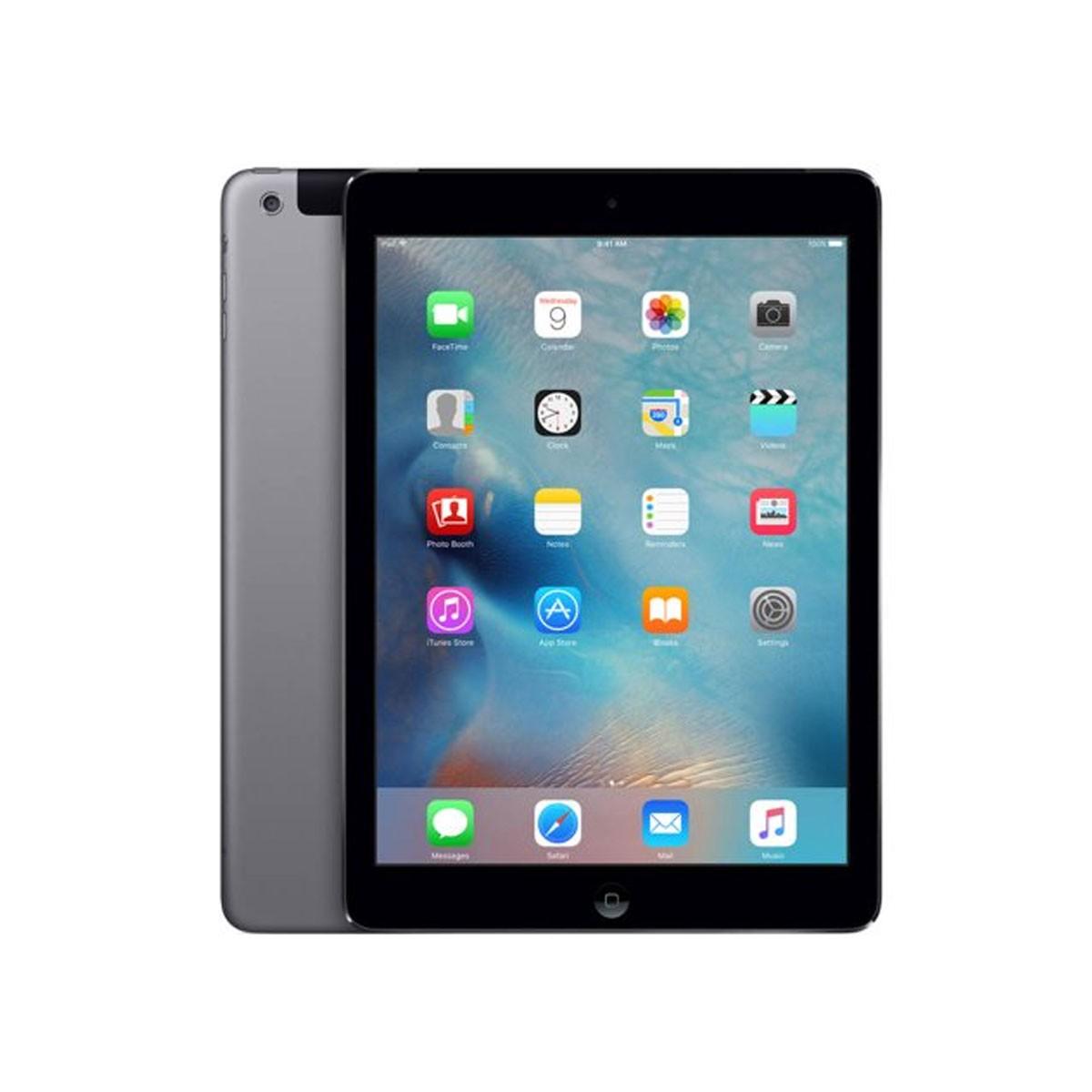 Apple iPadAir au 16GB/スペースグレイ MD791J/B アップル 中古 タブレット 本体 アイパッド Cランク