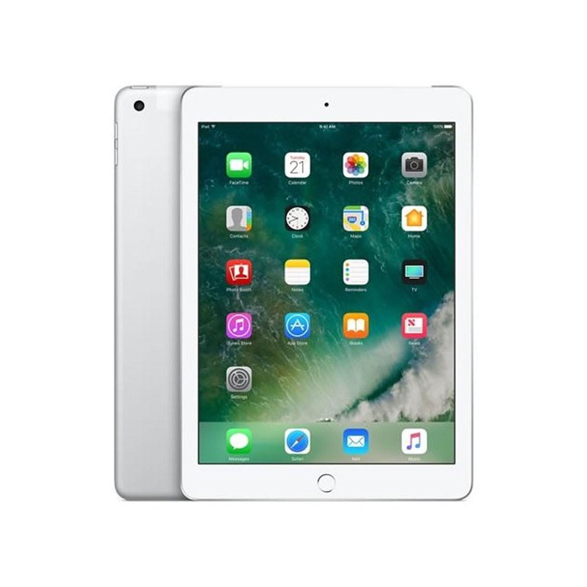 Apple iPad 5 au 32GB シルバー MP1L2J/A アップル 中古 タブレット 本体 アイパッド Cランク