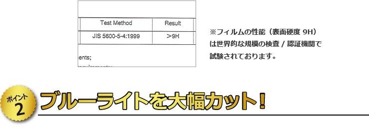 【ポイント2】 ブルーライトを大幅カット!