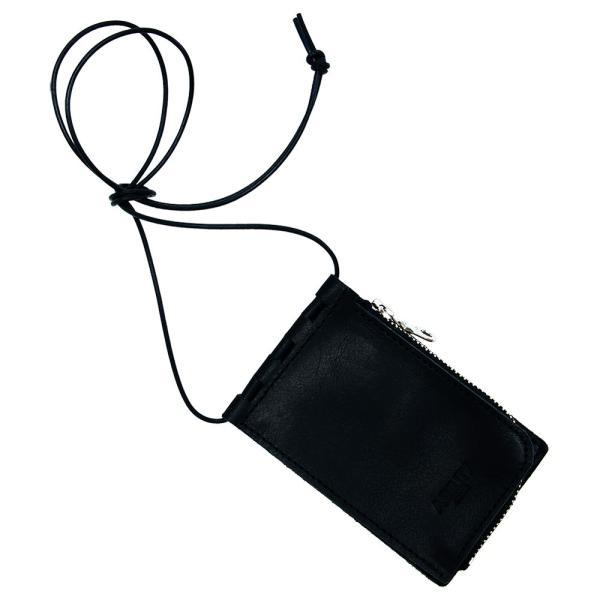 【ネコポス】ネックポーチ 小銭入れ 本革 レザー IDケース 財布 二つ折り パスケース 首掛け AGILITY affa アジリティアッファ フィユテ[M便 3/3]|pdd|25