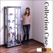 コレクションケース ガラス ショーケース フィギュアケース 完成品 おしゃれ 高さ160cm