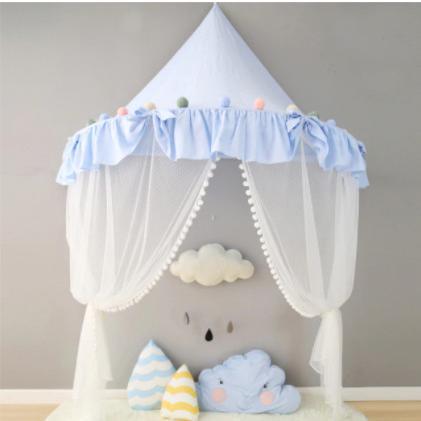 天蓋 キャノピー 子供部屋 キャノピー テント 折りたたみ式 テント キャノピーベッドカーテン|pekoma|19