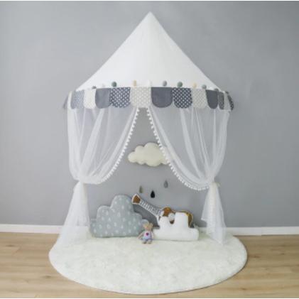 天蓋 キャノピー 子供部屋 キャノピー テント 折りたたみ式 テント キャノピーベッドカーテン|pekoma|10