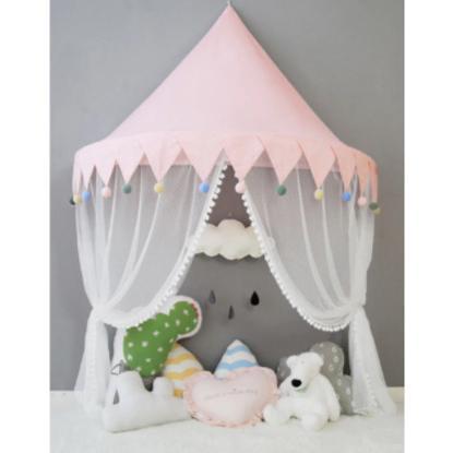 天蓋 キャノピー 子供部屋 キャノピー テント 折りたたみ式 テント キャノピーベッドカーテン|pekoma|16