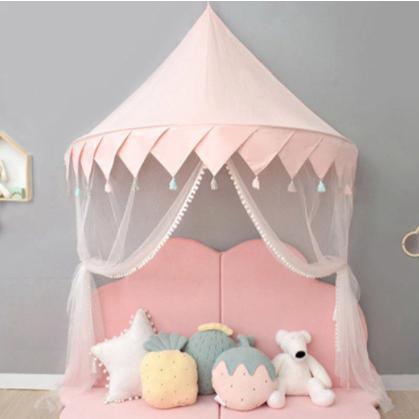 天蓋 キャノピー 子供部屋 キャノピー テント 折りたたみ式 テント キャノピーベッドカーテン|pekoma|08