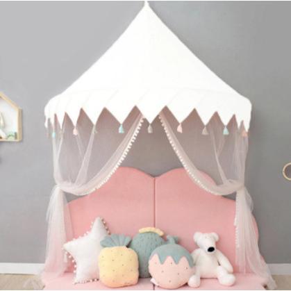 天蓋 キャノピー 子供部屋 キャノピー テント 折りたたみ式 テント キャノピーベッドカーテン|pekoma|14