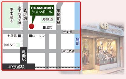 店舗の地図と画像
