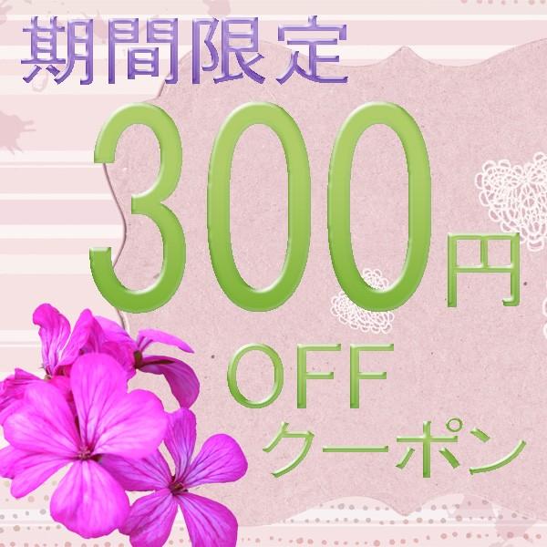 ペンダント特価店で使える300円引き 7月クーポン!【期間限定】