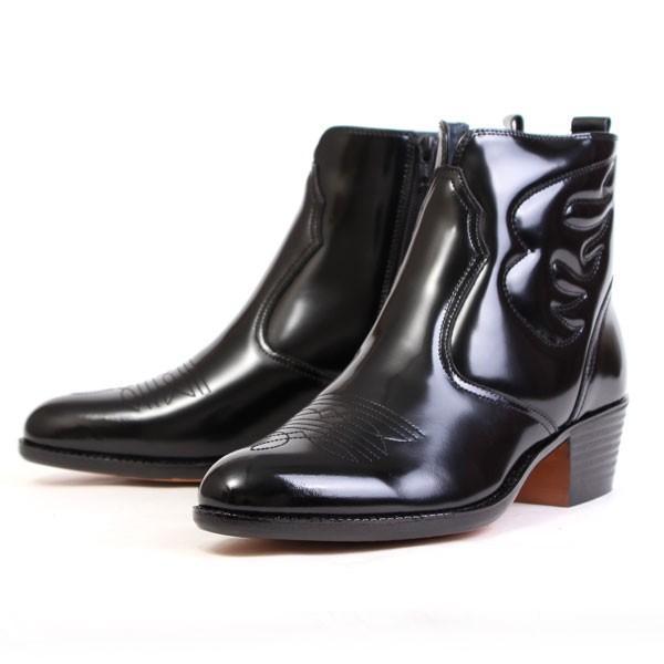 メンズ  ブーツ レザーブーツ ウエスタンブーツ メンズブーツ カジュアルブーツ キングサイズ 日本製 本革 はっ水 3E TEXASVIRREGE テキサスヴィレッジ 5521|pennepenne|11