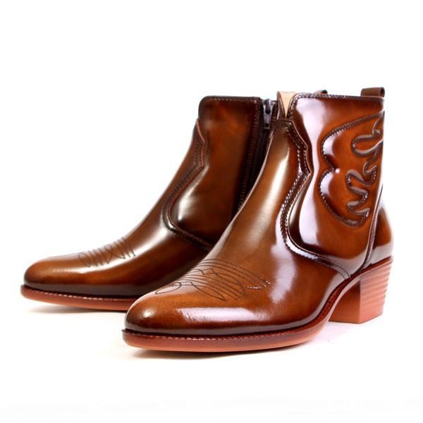 メンズ  ブーツ レザーブーツ ウエスタンブーツ メンズブーツ カジュアルブーツ キングサイズ 日本製 本革 はっ水 3E TEXASVIRREGE テキサスヴィレッジ 5521|pennepenne|12