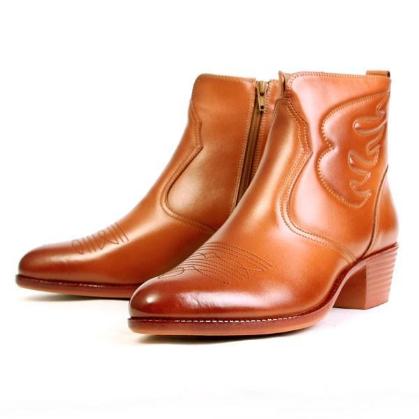メンズ  ブーツ レザーブーツ ウエスタンブーツ メンズブーツ カジュアルブーツ キングサイズ 日本製 本革 はっ水 3E TEXASVIRREGE テキサスヴィレッジ 5521|pennepenne|13