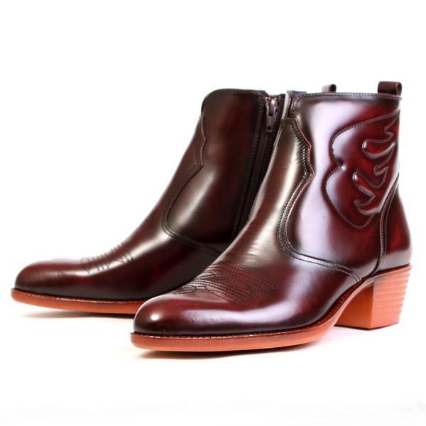 メンズ  ブーツ レザーブーツ ウエスタンブーツ メンズブーツ カジュアルブーツ キングサイズ 日本製 本革 はっ水 3E TEXASVIRREGE テキサスヴィレッジ 5521|pennepenne|14