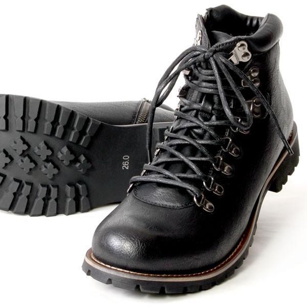 ブーツ メンズ メンズブーツ マウンテンブーツ エイチツーヴォルト H2VOLT500 ショートブーツ|pennepenne|17