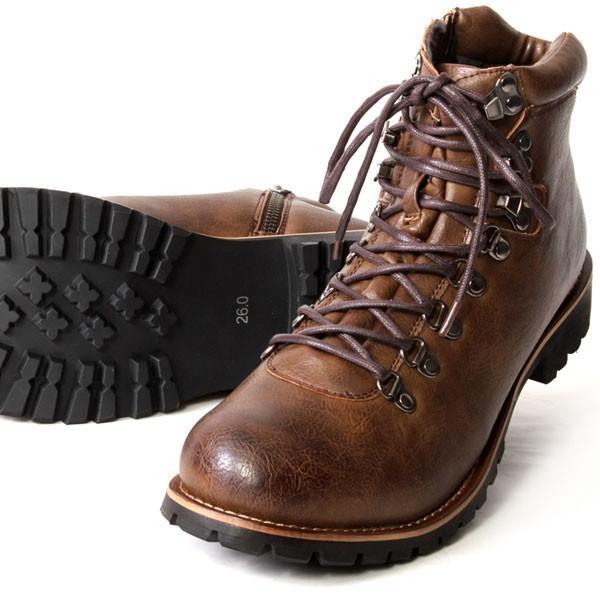 ブーツ メンズ メンズブーツ マウンテンブーツ エイチツーヴォルト H2VOLT500 ショートブーツ|pennepenne|15