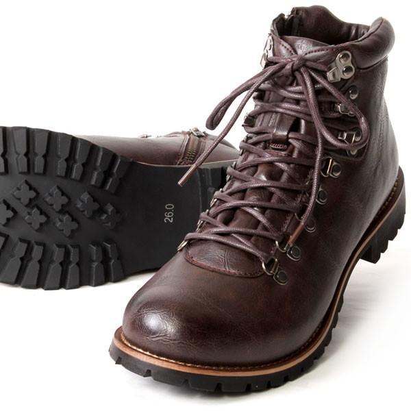 ブーツ メンズ メンズブーツ マウンテンブーツ エイチツーヴォルト H2VOLT500 ショートブーツ|pennepenne|16