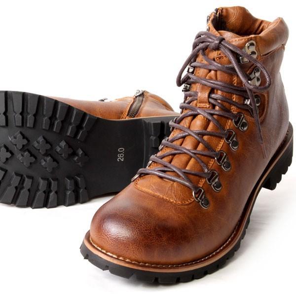 ブーツ メンズ メンズブーツ マウンテンブーツ エイチツーヴォルト H2VOLT500 ショートブーツ|pennepenne|14