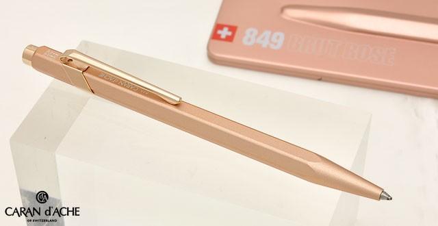 カランダッシュ ボールペン 849 ブリュットロゼ NF0849-997 ピンクゴールド