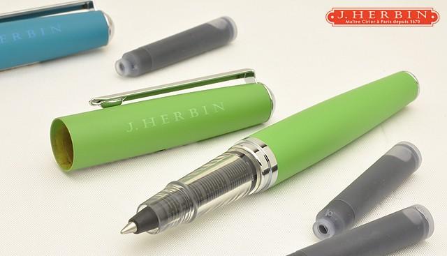 エルバンエルバン カートリッジインク用ペン hb21631 グリーン