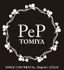 PeP TOMIYAロゴ