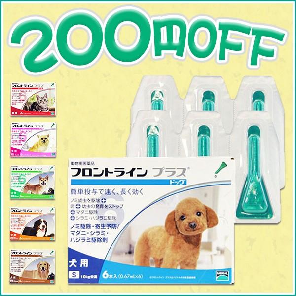 【先着1,000名様限定】対象のフロントラインプラス、フロントラインスプレーが200円OFF(ペットビジョン)