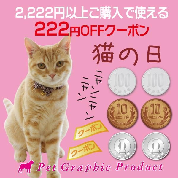 猫の日 222円OFFクーポン