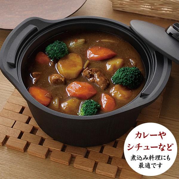 カレーやシチューなどの煮込み料理にも使えます