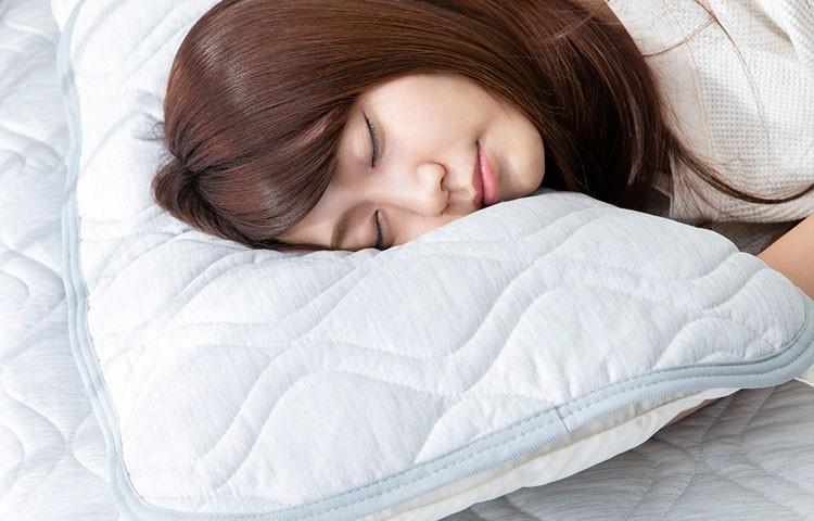 [抗菌防臭] 接触冷感 スーパークール枕パッド リバーシブル 2枚組