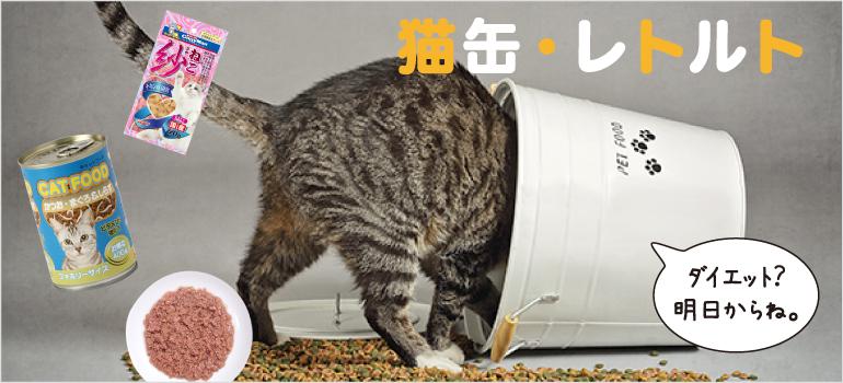 猫缶レトルト