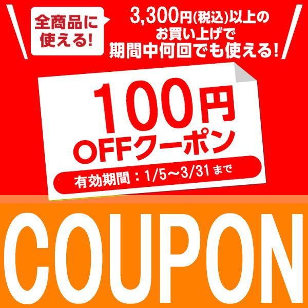店内全品対象!3,300円以上のご購入で100円OFFクーポン