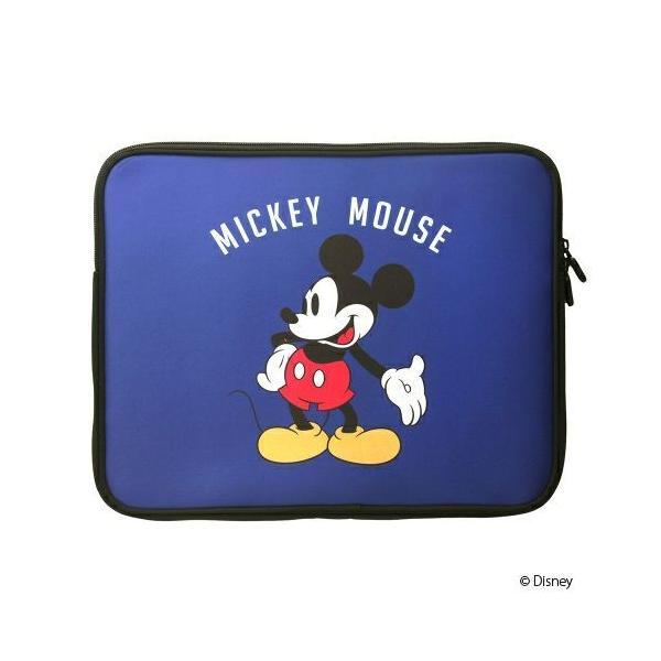 ディズニー パソコンケース PC・タブレット用インナーケース ミッキーマウス 軽量薄型 ノートパソコン PCケース  pg-a 12