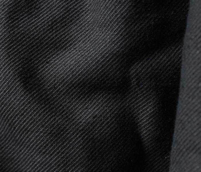 [送料無料]フランクリーダー/FRANK LEDER ドイツ製 ヘリンボーンウール モーターサイクルコート NAVY NEP HERRINGBONE WOOL (0021008-COAT)