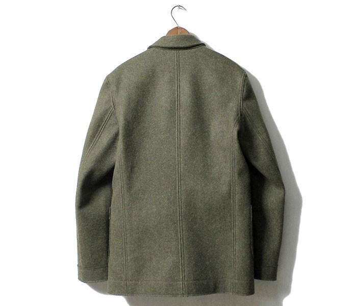 [送料無料]フランクリーダー/FRANK LEDER ドイツ製 ヘビーローデンウール ジャケット KHAKI HEAVY LODEN WOOL (0022034-JACKET)